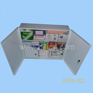 Resuable Metal Factory First Aid Box for Basic Treatment (DFFB-021) pictures & photos
