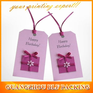 Special Printed Paper Swing Tags (BLF-T111) pictures & photos