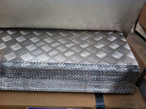 5052 4mm aluminum checkered plate pictures & photos