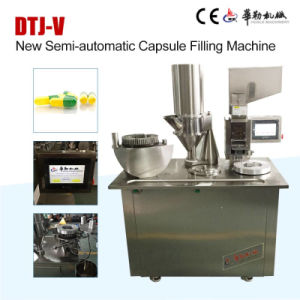 Semi Auto Empty Capsule Filling Machine for Powder, Pellets, Granual pictures & photos