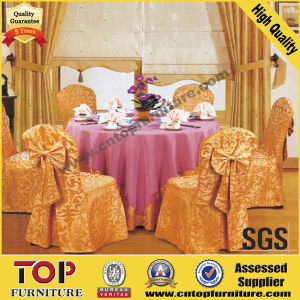 Ricamo Table Cloth and Chair Cover pictures & photos