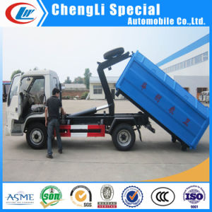 Heavy Duty Foton Hooklift Garbage Truck for Sale pictures & photos
