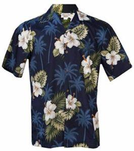 Men All Over Print 100% Cotton Beach Aloha Shirt pictures & photos