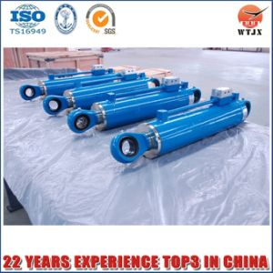 Double Acting Telescopic Hydraulic Cylinder for Agricultural Machinery Cylinder pictures & photos