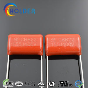 Metallized Polypropylene Capacitor (Cbb 155j/400V) with UL VDE RoHS Reach for Home Appliance pictures & photos