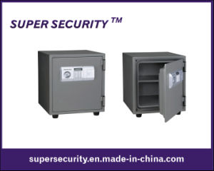 Steel Construction Double Lock Safe Box (SJJ55) pictures & photos