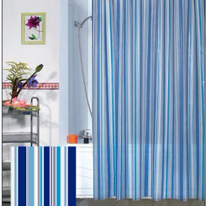Wholesale 100% Polyester Waterproof Shower Curtain (DPF10740) pictures & photos