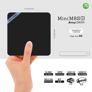 Wechip New Item 2g/8g Mini M8sii TV Box pictures & photos