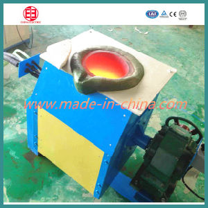 Copper, Aluminum, Cast Iron Induction Melting Furnace pictures & photos