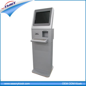 Free Standing Lobby LCD 17′′ Touch Screen Information Kiosk/Visitor Registration Kiosk pictures & photos