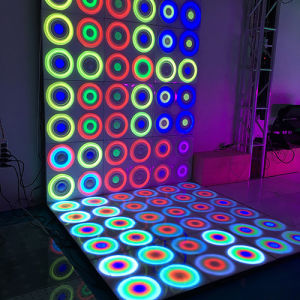 Wedding Party Light Dynamic Patent 61*61cm RGB Waterproof Effect LED Dance Floor pictures & photos