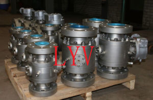 Stainless Steel Forged Ball Valve pictures & photos