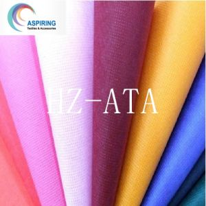 White/Blue/Red/Black and So on DOT Style Nonwoven Fabric pictures & photos