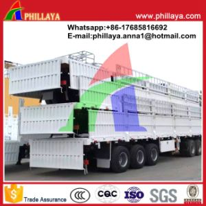 Semi Trailer Mafacturer for Side Wall Flatbed Trailers pictures & photos