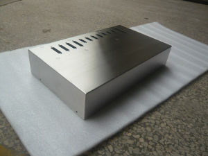 Polished Metal Box, Power Shell, Laser Cutting Spare Part pictures & photos