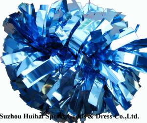 Cheerleading Metallic Columbia Blue POM POM pictures & photos