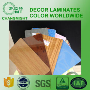 Wood Grain Laminate Kitchen Cabinets/Formica Colors pictures & photos