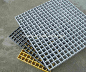 FRP Grating / Fiberglass Grating with Higher Strength Same as Steel Bar Grating (SM 38) pictures & photos