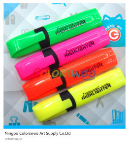 4PCS Highlighter Marker Pen with Clip pictures & photos