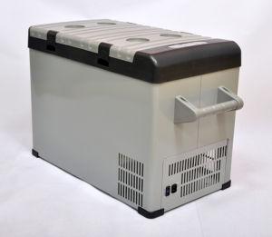 Portable Car Compressor Refrigerator 42liter DC12/24V with AC Adaptor (100-240V) for Outdoor Activity Use pictures & photos