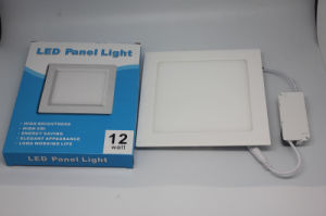3W 6W 9W 12W 15W 18W Aluminum Hot Sales LED Panel Lamp Lighting pictures & photos