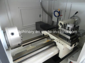 Flat Bed Ck6140 CNC Lathe Machine with Independent Spindle Unit pictures & photos