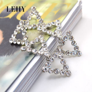 Hot Fashion Drop Earrings Jewelry Silver-Tone Bling Bling Earrings Designs pictures & photos