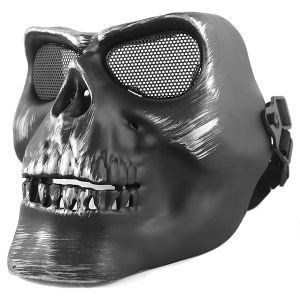V2 Airsoft Skull Skeleton Full Face Protector Mask pictures & photos
