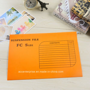 FC Colored Paper Suspension Hanging File with Index Tab pictures & photos