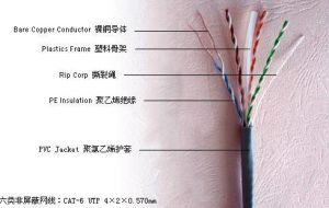UTP CAT6 LAN Cable/FTP Network Cable pictures & photos