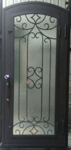 Fashionable Design Wrought Iron Doors pictures & photos