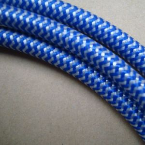 White Blue Patterns Braided Cable pictures & photos