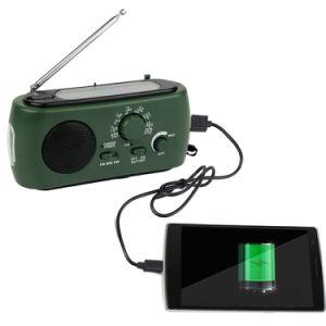 Rd-332 LED Multifunction Emergency Am/FM Portable Radio Solar/Dynamo Powered W/Flashlight pictures & photos