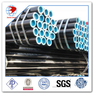 ASTM A53 A106 API 5L Grade B Black Carbon Steel Seamless Pipe pictures & photos