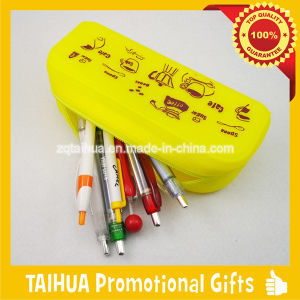 Fashion Pen Bag, Silicone Bag with SGS pictures & photos