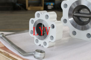 Cast Steel Lift Swing Wafer Check Valve pictures & photos