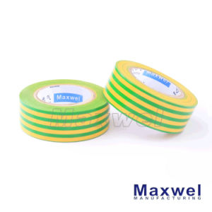 Yellow&Green PVC Insulation Electrical Tape pictures & photos