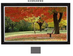 Factory Direct Sale Elegant Fixed Frame Screen pictures & photos