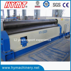 W11-16X2500 Electric Drive Type 3 Roller Stainless Steel Plate Rolling Machine pictures & photos
