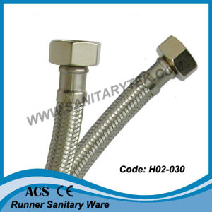Stainless Steel Braided Flexible Hose (H02-030) pictures & photos