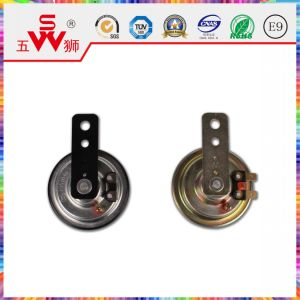 Golden Iron Disk Electric Horn for Auto Part pictures & photos