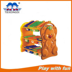 Children Plastic Toy Shelf Type pictures & photos