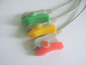 Nihon Kohden Snap&Clip Rou11pin 3 ECG Cable pictures & photos