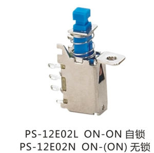 SPDT Latching Reset, Push Button Switch Power Switch (PS-12E02) pictures & photos