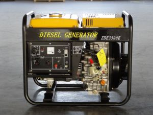 3kVA Open Type Portable Diesel Generator (ZDE3500X/E) pictures & photos