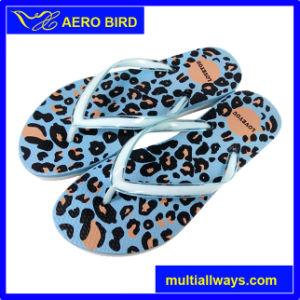 Trendy Leopard-Print PE Outsole Sandal for Men pictures & photos