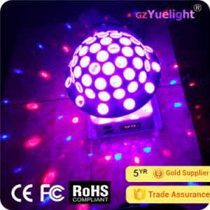 Yuelight 25W RGB 6*3W&3*1W UFO Magic Ball Disco Party Light pictures & photos