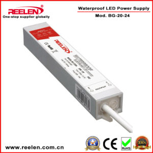 24V 0.83A 20W Waterproof IP67 Constant Voltage LED Power Supply Bg-20-24 pictures & photos
