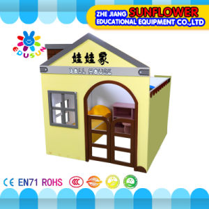 Doll House/ Wooden Kids Playhouse /Children Play House (XYH12140-1) pictures & photos