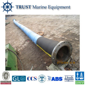 High Quality Flanged Floating Dredging Rubber Hose Pipe pictures & photos